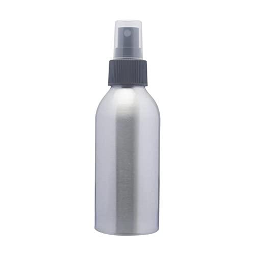Botella contenedor 30/50 / 100ml Botella de rociado de aluminio PERFUME RENOBILIDAD POR PORTÁTIL VIAJE VIAJE TRAVEL PURRIENTE COSMITICO ATOMIZADOR DE PLATA ( Color : Silver , Specifications : 100ml )