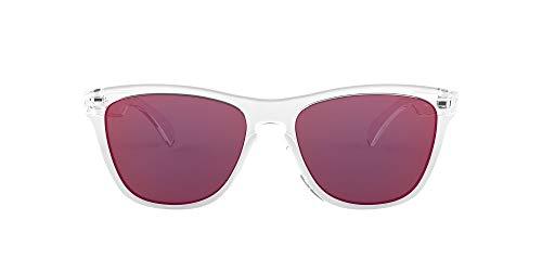 Oakley 0OO9013 Occhiali da Sole, Grigio (Polished Clear), 54 Uomo