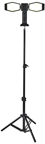 Northpoint LED Akku Baustrahler Arbeitsstrahler 4400mAh inkl. 100cm Stativ und Magnethalterung