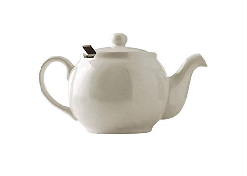 London Teapot - Tetera de 2 Tazas con Filtro, Color Beige