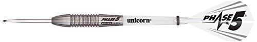 Unicorn Phase 5 Mirage Steel Dart, 95% Tungsten, 28g