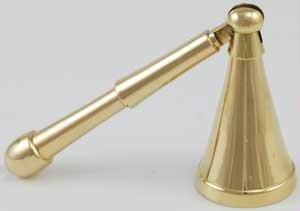 Long Belled Brass Snuffer