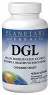 Planetary Herbals   DGL   Deglycyrrhizinated Lakritz   200 vegane Kautabletten