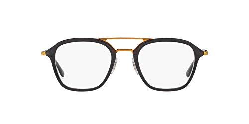 Ray-Ban 0Rx7098 Monturas de gafas, Grey, 48 para Hombre