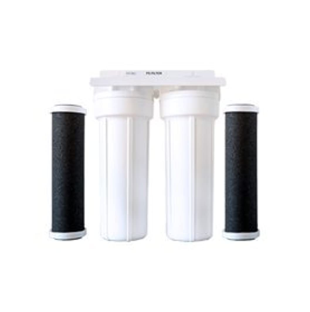 Home Water Replacement Filter for 2-stage Drinking Water Filter, 2-pk