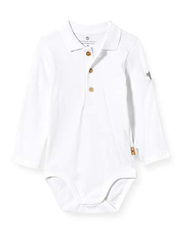 Bellybutton mother nature & me Baby-Jungen Body T-Shirt, Bright White|White, 86