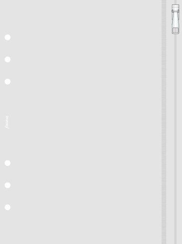 Filofax Klarsichttasche mit Reißverschuss A5