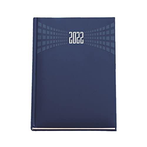 Agenda giornaliera 2022 Matrà A4 (21x30) BLU - agenda maxi sabato e domenica separati - OMAGGIO CALENDARIO + PENNA