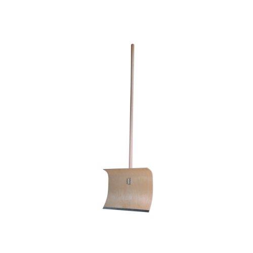 Schneeschieber Sperrholz m.Stahlkante 50cm