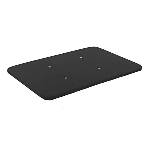HOGAR24 ES Base tapizada 135 x 190 Reforzada sin Patas, tapizado 3D Color Negro + 4 válvulas de transpiración.