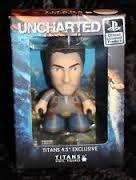 Arcade Block Exclusive! Uncharted Vinyl Figure Nathan Drake Titans 4.5