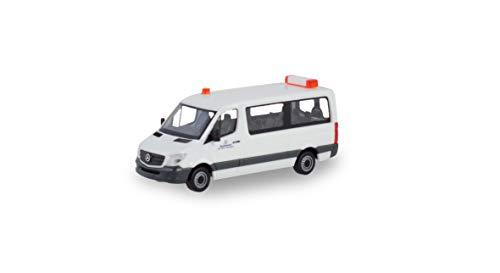 herpa-Mercedes-Benz Sprinter Bus FD Transporte Pesado escolta Bundeswehr, Alas/avión para la Recogida (700696)