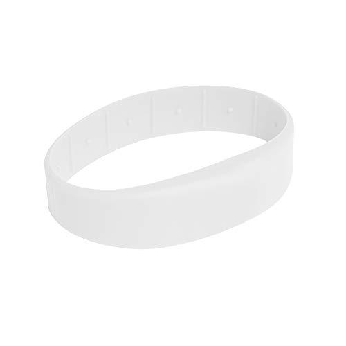 3 Stück RFID Armband SILA09 MIFARE® Classic 1K (Weiß, 62)