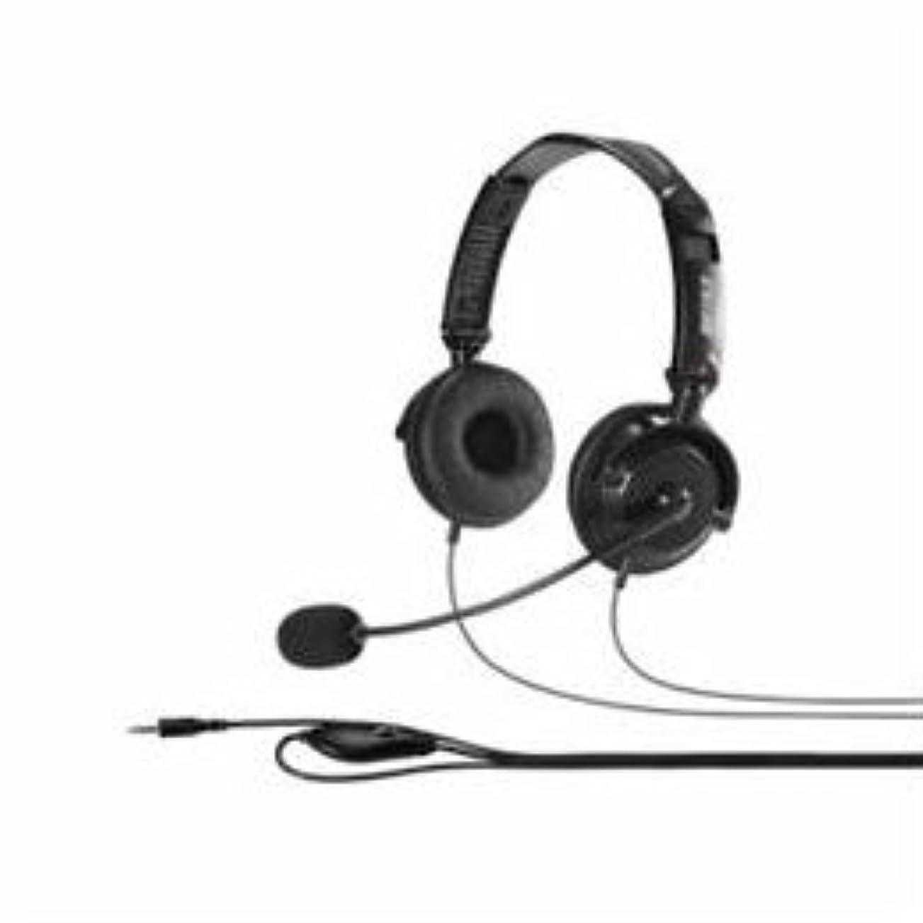 簡単にへこみ血色の良い(2個まとめ売り) BUFFALO バッファロー BSHSHCS310BK 両耳ヘッドバンド式ステレオヘッドセット 折りたたみタイプ ブラック