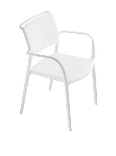 Pedrale Set Stuhl 4-teilig Ara 315 Weiß