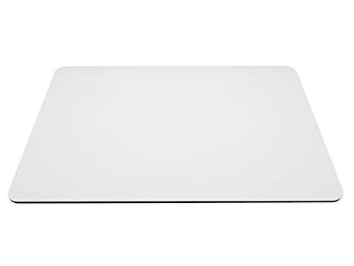 Arkero-G® Spielmatte Weiss (ohne Logo) 60x36cm - selbst gestalten (Custom Playmats) - Kartenspiele, MTG Magic, YuGiOh, Pokemon Schreibtischunterlage