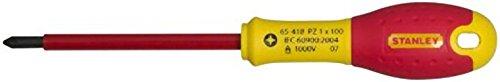 Stanley FatMax Destornillador FatMax Pozidriv PZ1 X 100 mm 0-65-418, Rojo