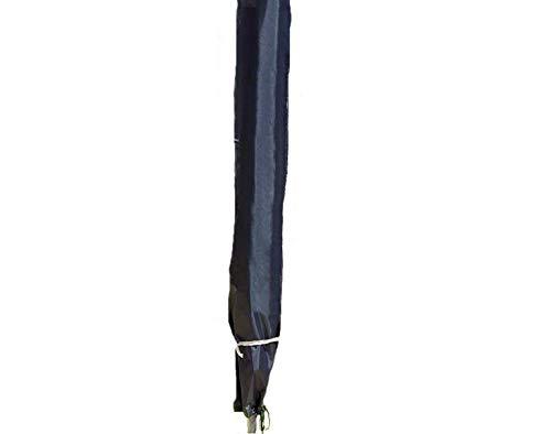 Housse de protection Spetebo - Pour parasol de 200 à 400 cm Visière de protection - Tissu Oxford 420D