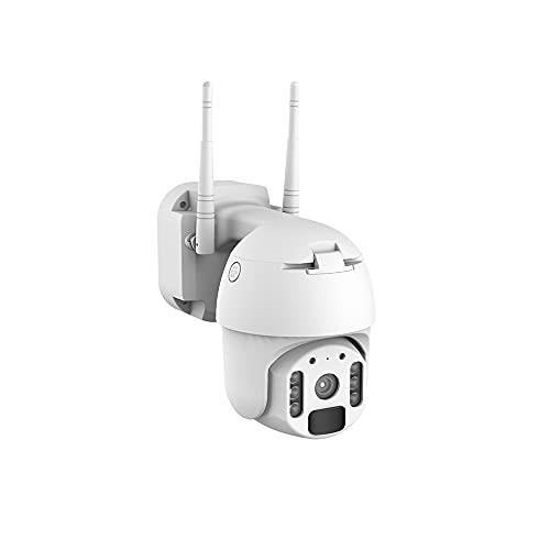 Kit de Vigilancia de Video WiFi Aottom 720P 4CH Sistemas Camaras de Seguridad, Kit de Seguridad inalámbrica 4 Camaras, Visión...