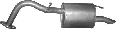 ETS-EXHAUST 1847 Exhaust Rear Silencer fits YARIS 1.0 HATCHBACK 68hp 1999-