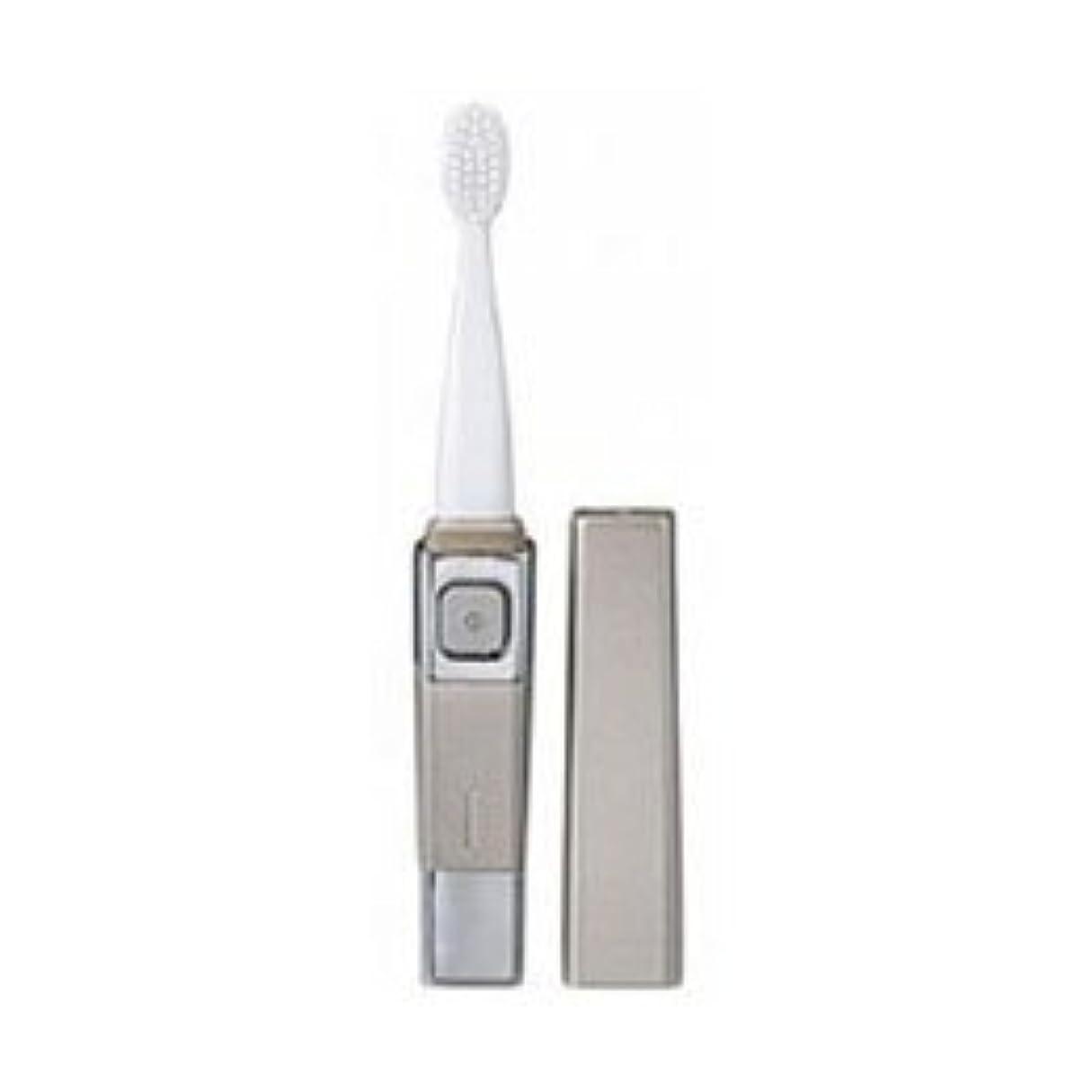 動機優雅不調和(4個まとめ売り) ツインバード 音波振動歯ブラシ シャンパンゴールド BD-2755G