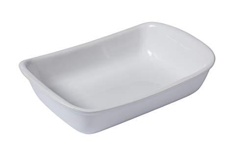 Pyrex Supreme Fuente para Horno, Cerámica, Blanco