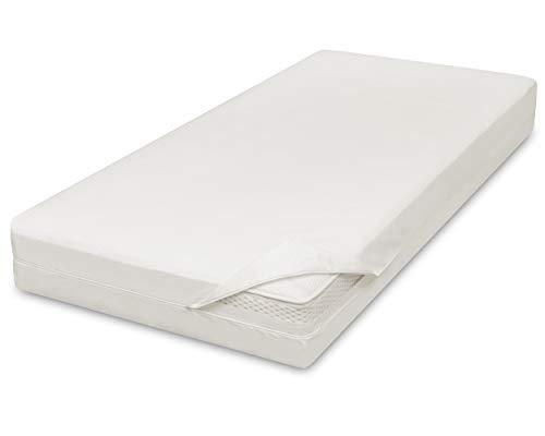 allsana Allergiker Matratzenbezug 140x200x16 cm Allergie Bettwäsche Anti Milben Encasing Milbenschutz für Hausstauballergiker
