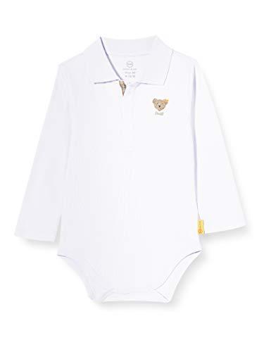 Steiff Unisex Baby Longsleeve Body, Bright White, 86
