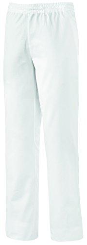 clinicfashion 10612010 Hose Schlupfhose weiß Unisex für Damen und Herren, Kurzgröße, Mischgewebe, Größe XXL-K
