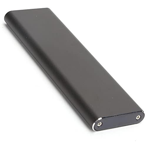 Goshyda Carcasa SSD M.2 NVME, Accesorio de computadora PCIE a USB3.1 GEN2 de aleación de Aluminio con Tipo C, Compatible con Cuatro especificaciones de SSD M.2 NVME 2230/2242/2260/2280