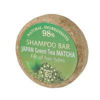 SAULES FABRIKA Duft Shampoo – Bar Naturkosmetik 100% Handmade natürliche Shampooseife handgemachte Haarseife 60g Haarwaschseife für alle Haartypen (Japanischer Grüntee)