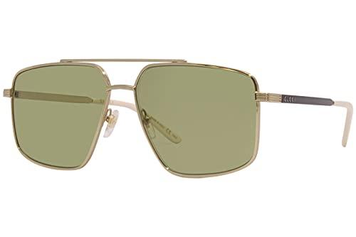 Gucci GG 0941S 002 - Gafas de sol de aviador, color dorado y negro
