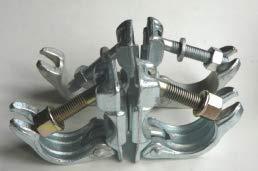 Abrazadera andamio doble giratoria de 48/48 (SACO DE 25 UDS)