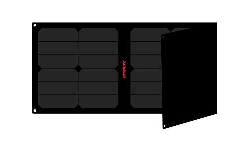 Litionite Arun 40W - 20V/5V Tragbares und faltbares Solarpanel mit Technologie ETFE/SUNPOWER - Automatischer Spannungsregler - 1x USB - 1x DC - Solarladegerät für Laptop/Power Bank/Smartphone