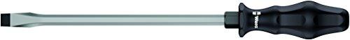 Wera 05018274001 334 Schlitz-Schraubendreher, 2.5 x 14.0 x 250 mm, Werkstattklinge, 2, 2,5 x 14