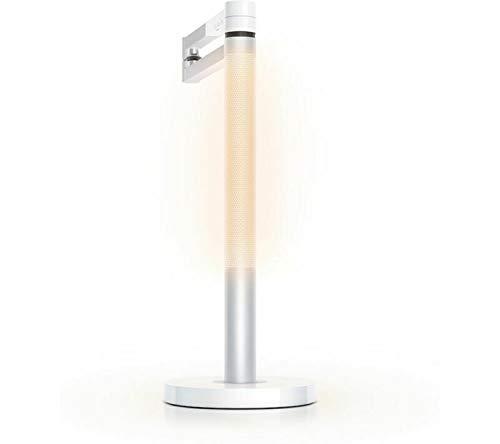 Dyson Lámpara de escritorio Lightcycle Morph (blanco/plata) - Rastrea de forma inteligente su luz local - Modelo internacional