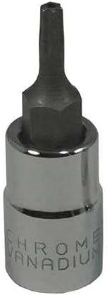 Bargain sale Socket Bit Steel 1 4 pack T10-6 TpSz Direct sale of manufacturer in
