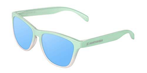 NORTHWEEK Gradiant Gafas de sol, Menta - Azul Cielo, Adulto Unisex Adulto