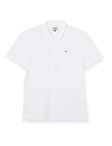 Tommy Hilfiger Man Polo Classics Solid Stretch Polo dm0dm07196 XL White