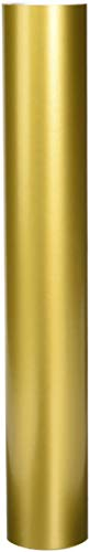 ORACAL Permanent Glossy Adhesive Vinyl, 12 Inches by 10 Feet, Metallic Gold