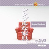MIXA IMAGE LIBRARY Vol.283 シンプルな家具