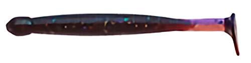 エコギア(Ecogear) ワーム グラスミノーL 3‐1/4インチ #414 魅惑パープルカモ