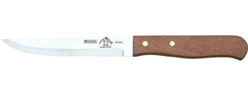 Sonpó Online - Cuchillo de mesa con mango de Madera Natural, de...