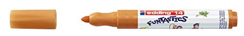 edding Fasermaler Filzstifte e-14 FUNTASTICS, Ocker, ca. 3 mm