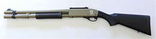 GOLDEN EAGLE Escopeta Gas M870 Police Color marrón Claro