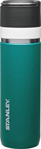 Stanley GO Ceramivac Thermosflasche mit Keramikbeschichtung, 0.7 L, beschichteter 18/8 Edelstahl, vakuumisoliert, geschmacksneutral, Thermoskanne Isolierkanne Thermoflasche