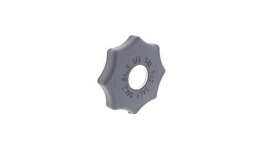 AIRLUX, BOUCHON Lave-Vaisselle BAC A SEL 84mm GRIS FONCE