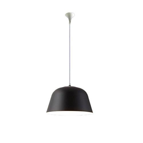 Kroonluchter Sumatra zwart Nordic woonkamer slaapkamer koffie macarons creatieve eenvoudige atmosferische persoonlijkheid Amerikaanse kleur ijzer eettafel lamp E27