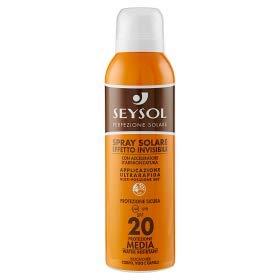 Seysol Spray solaire effet invisible SPF 20 150 ml