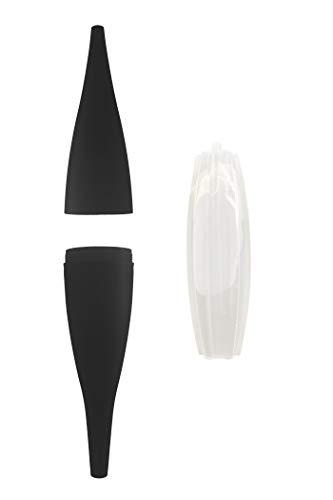Shisha King® Ice Bazooka EIS Mundstück & Kühlpad Set | Wasserpfeife Eisschlauch Kühlakku Zubehör | für jeden Schlauch | 90 min Kühlung kalter Rauch (Schwarz)